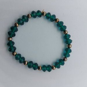 🎁 FREE w/ Purchase   Peacock Crystal Bracelet